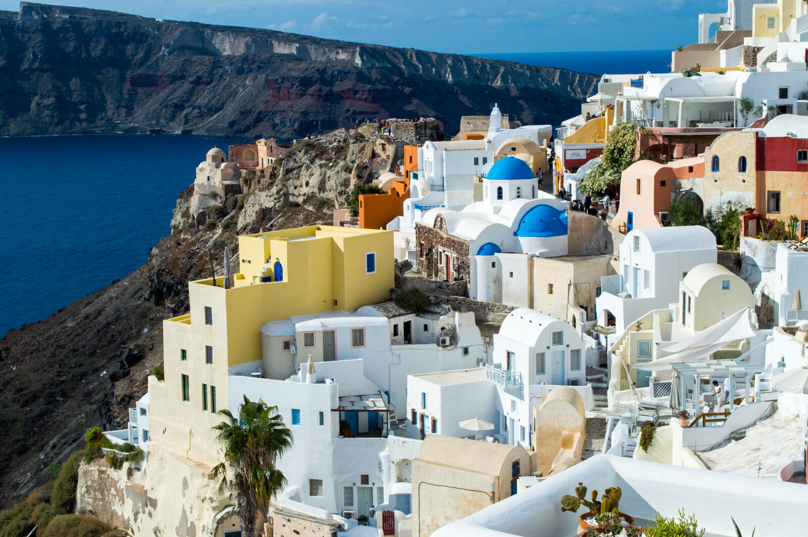 The beauty of Santorini, Greece