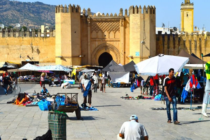 The bustle and hustle of Fez, Morocco