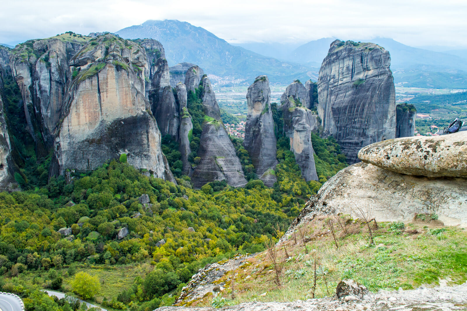 The landscapes of Meteora