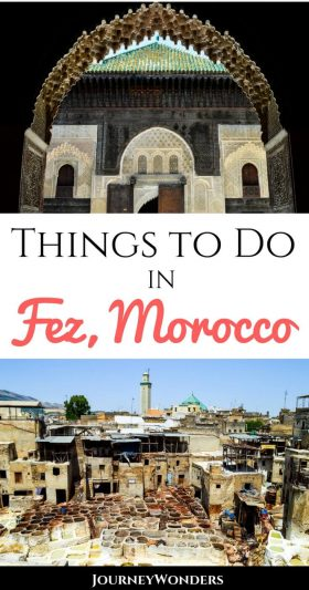 Known as the Mecca of the West, the city of Fez is the heart of Morocco's rich culture and heritage. Come and explore the Best Things to Do and See in Fez, Morocco.