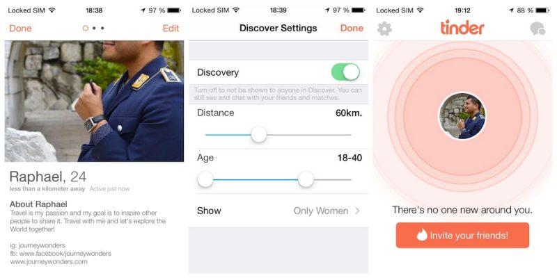 Tinder, The Best Travel App