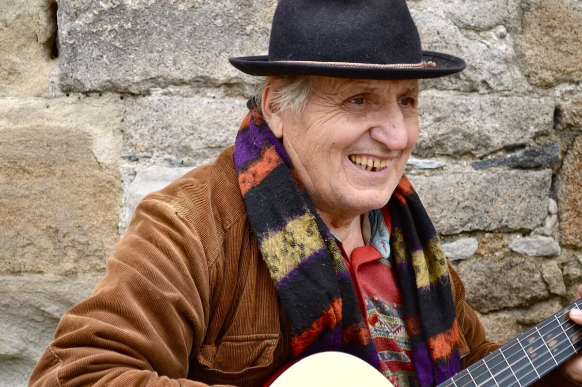 Bulgarian singer at Plovdiv