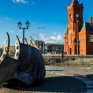 Cardiff, capital of Wales