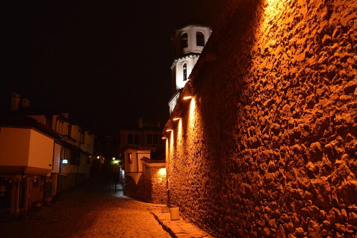 Night at Plovdiv