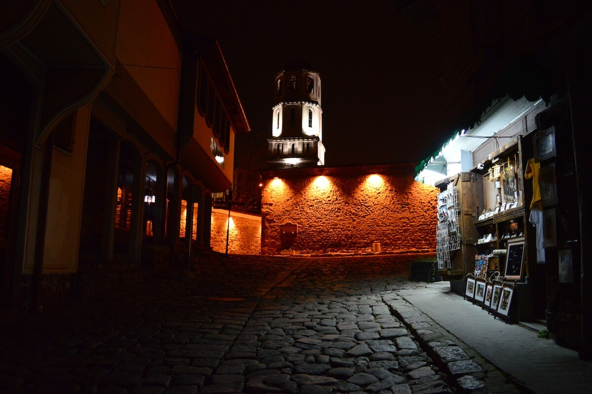 The historical center of Plovdiv