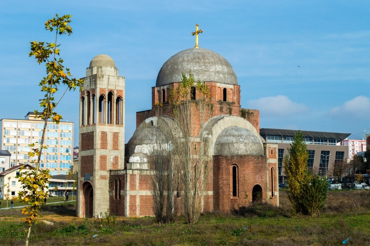 The religious architecture of Kosovo