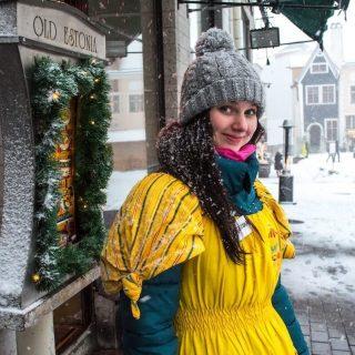 Beautiful Estonian women in Tallinn