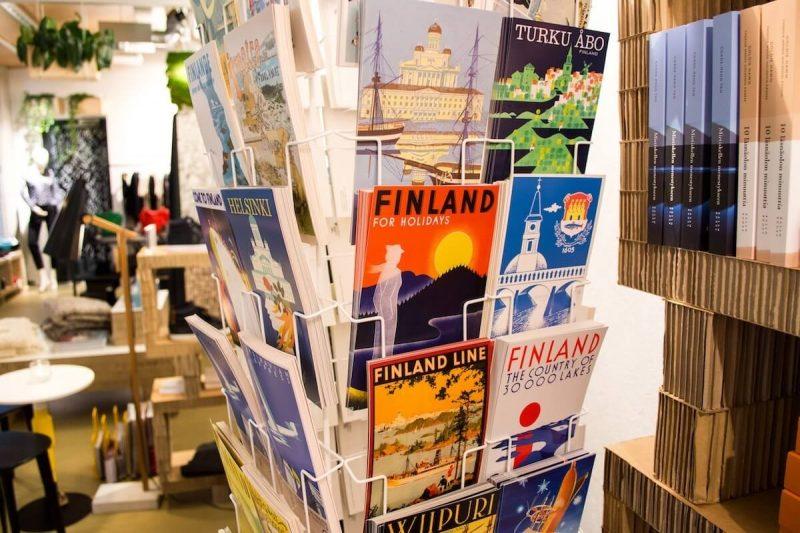 From Helsinki with love, postcards of Helsinki