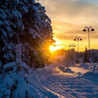 Levi, the Ski Resort Town of Lapland