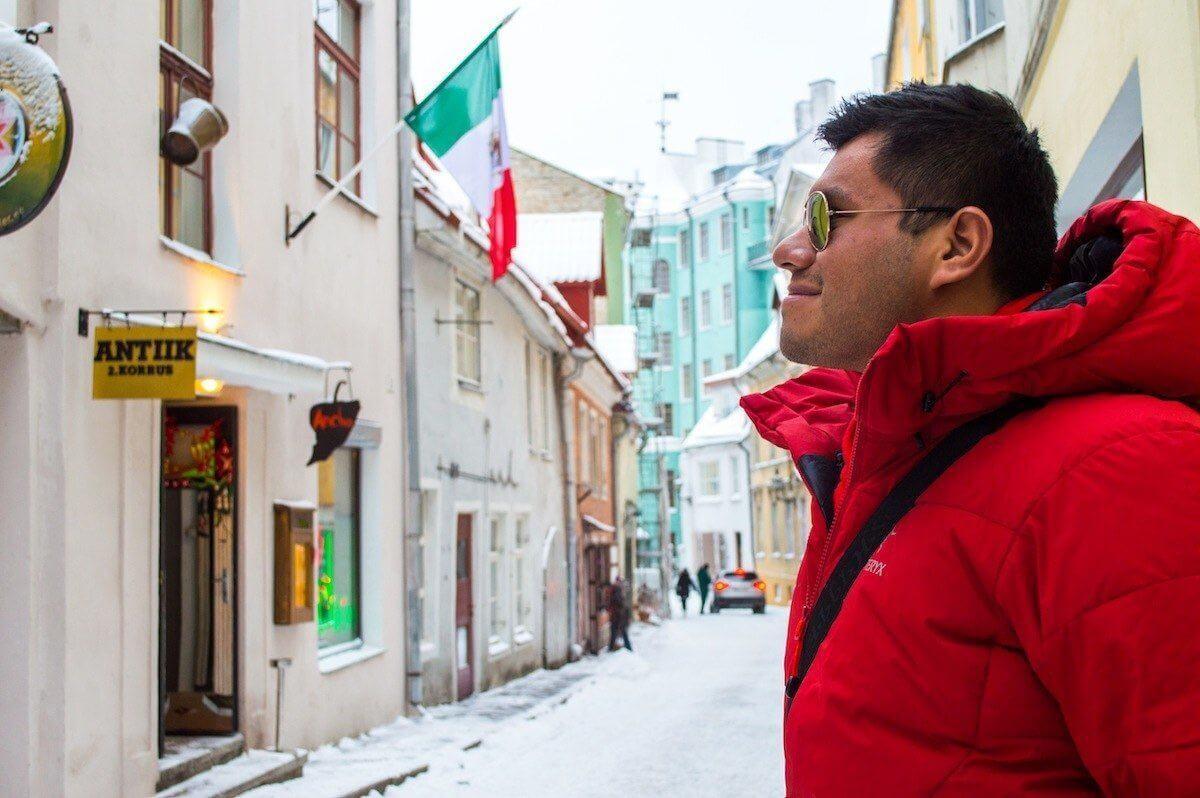 Raphael Alexander Zoren in Winter