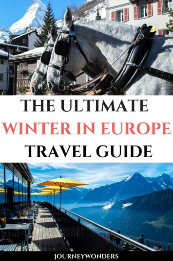 The Ultimate Winter in Europe Travel Guide