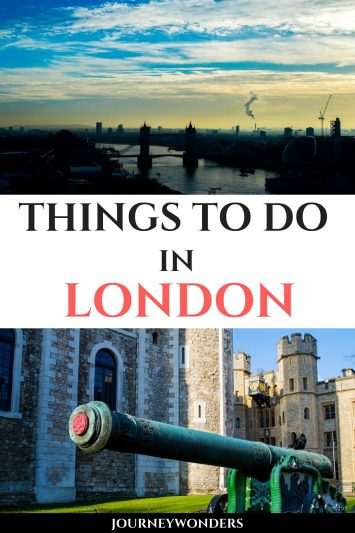 Things to Do and See in London England United Kingdom