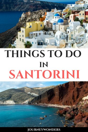 Things to Do and See in Santorini Greece Europe Travel