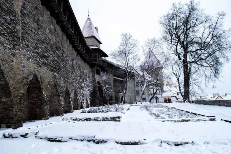 Winter in Tallinn