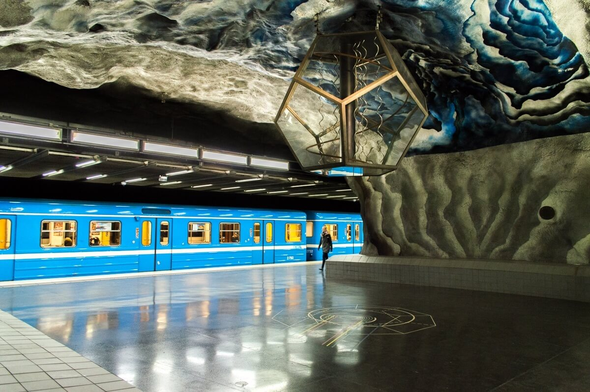 Art in the Metro of Stockholm 7