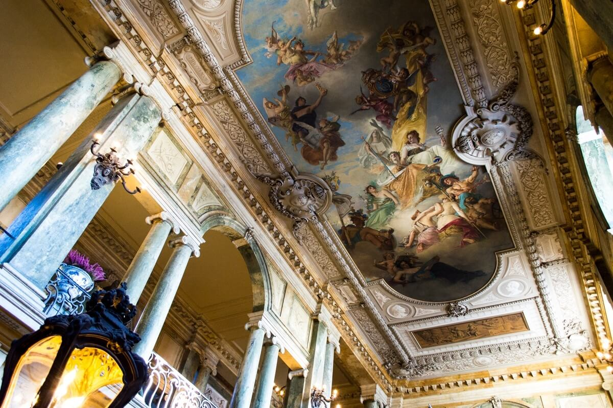 Inside of the Royal Palace of Stockholm