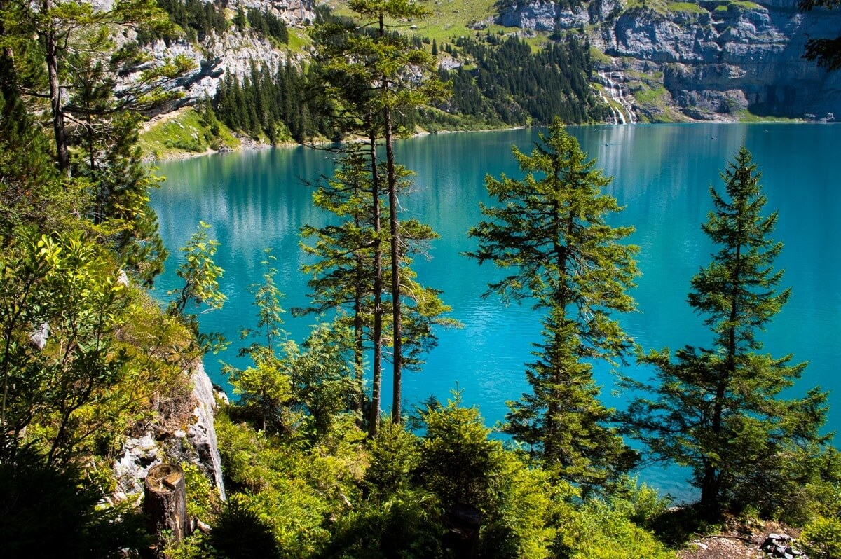 Lake Oeschinensee, Switzerland