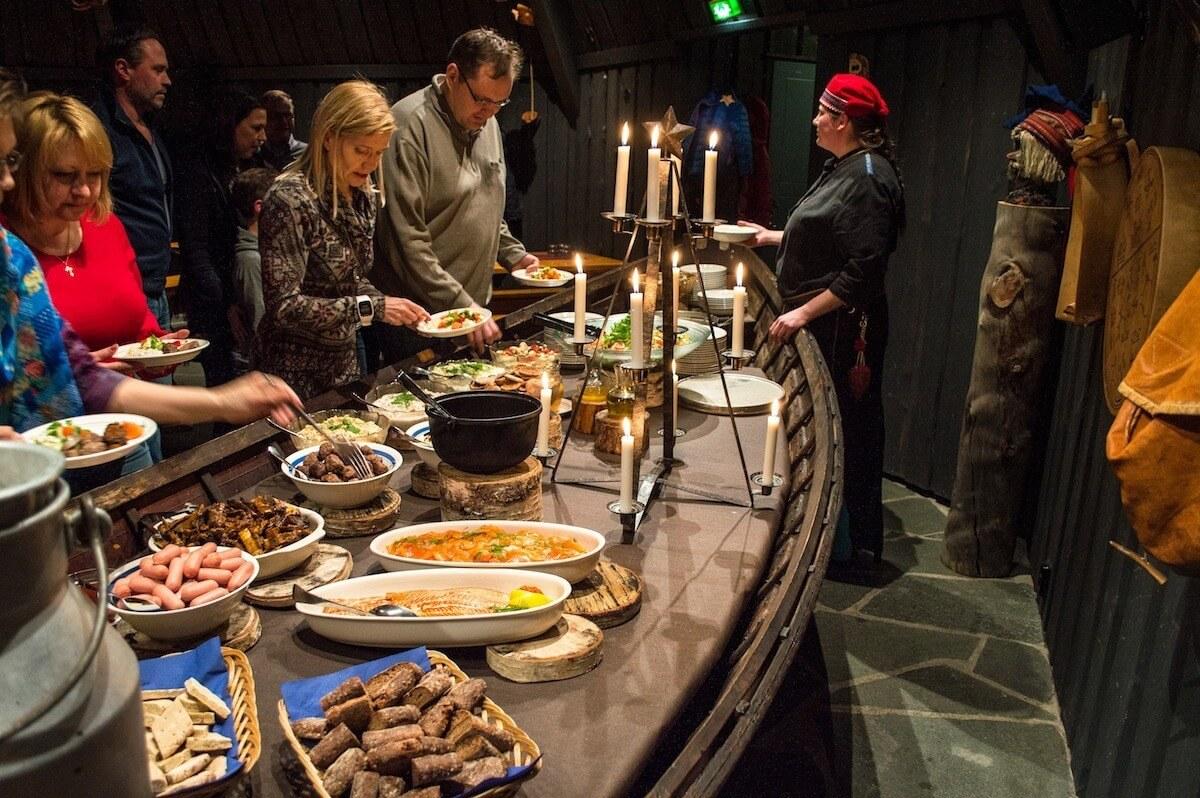 Lappish Dinner at the Starry Hut
