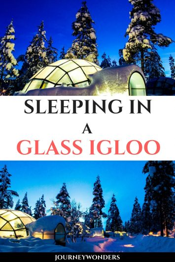 Sleeping in a Glass Igloo in Finland, Lapland