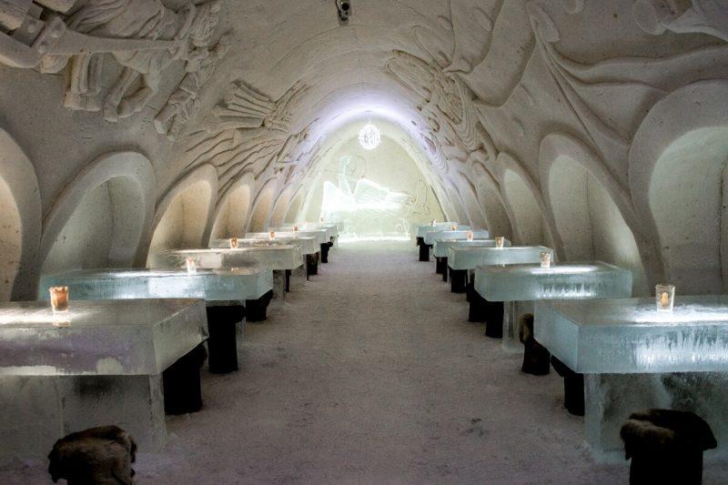 Snow Restaurant at Kemi Snow Castle