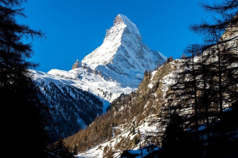 The Matterhorn of the Swiss Alps