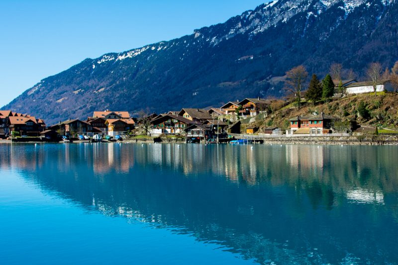 The beauty of the Swiss Alps