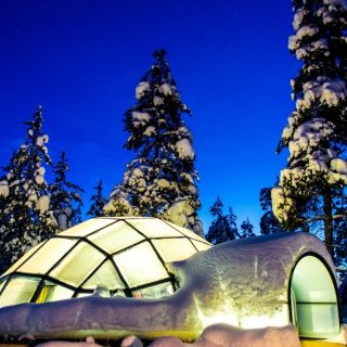 The day I slept at Kakslauttanen Glass Igloo