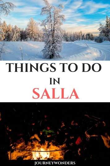 Things to do and see in Salla Finland Lapland