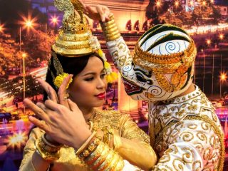 International Love at Cambodia
