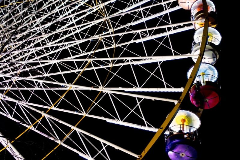 The Ferris Wheel of Clermont-Ferrand