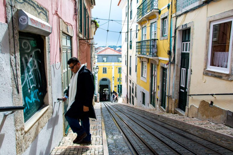 The Man of Wonders in Lisbon, Portugal
