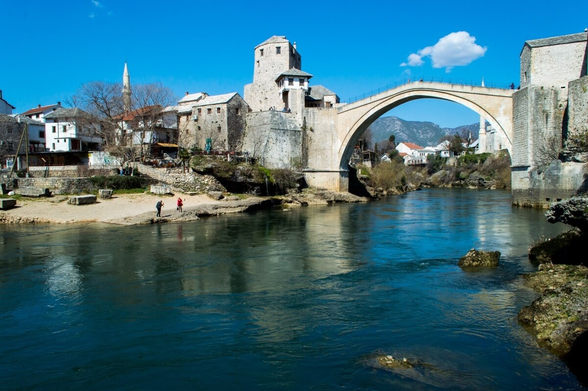 The Mostar Bridge, Bosnia