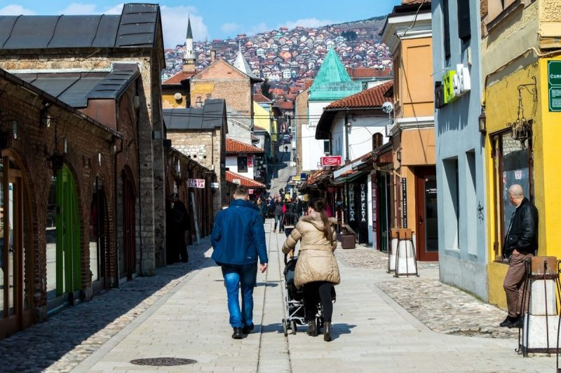 The Old Town of Sarajevo