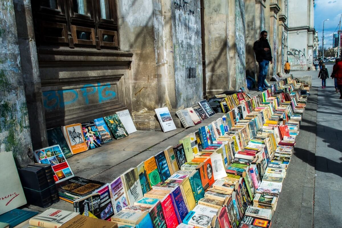 The book reading culture of Bucharest