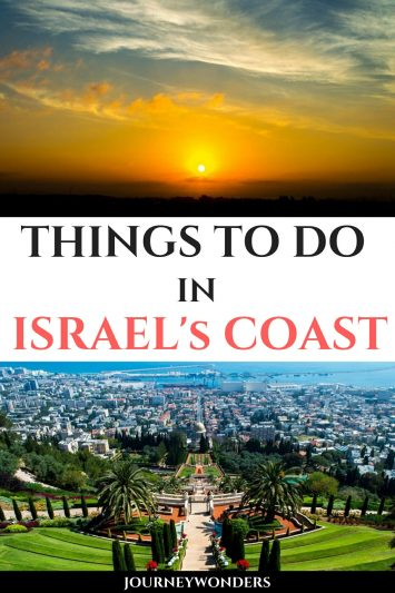 Things to do in Israel's Coast