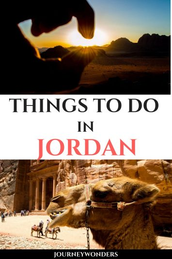 Things to do and see in Jordan