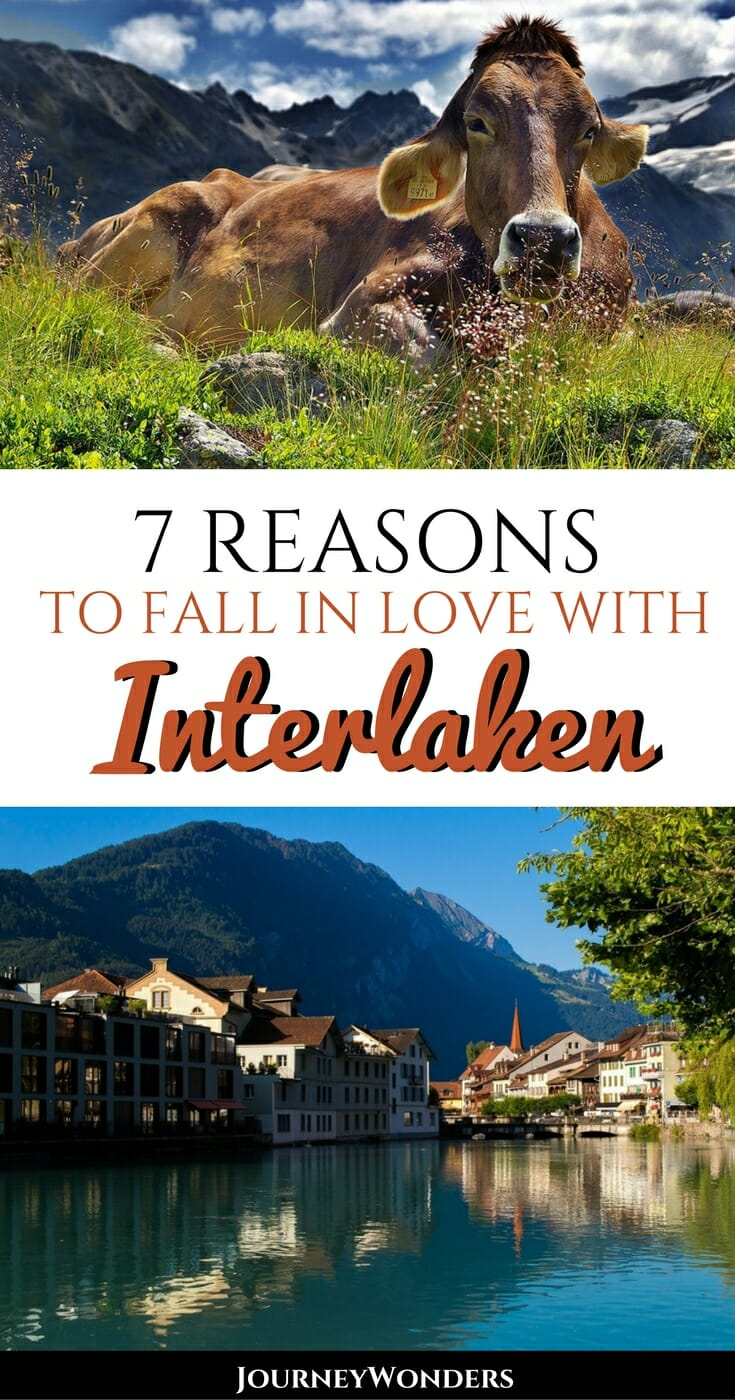 The best article for everything about Interlaken, Switzerland | What to do in Interlaken | Things to do in Interlaken | Interlaken Travel Tips | Interlaken Photos | Interlaken Winter Hikes | Interlaken Summer Hikes and more via @journeywonders