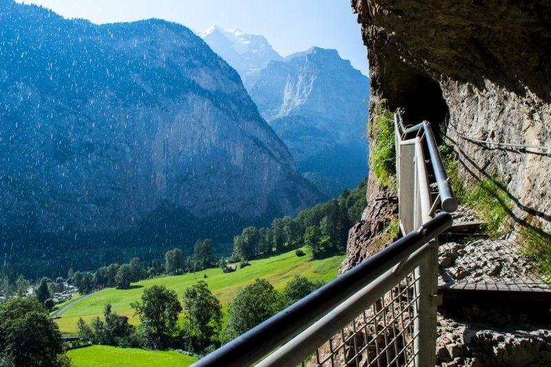 Lauterbrunnen and its 76 Waterfalls