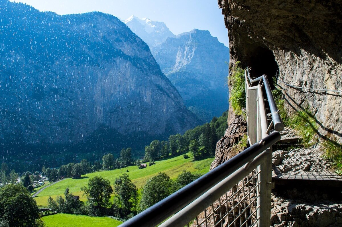 Lauterbrunnen and its 76 Waterfalls