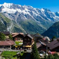 Murren, the car-free alpine village