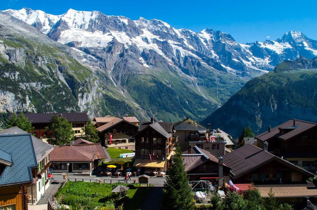 Murren, the car-free alpine village