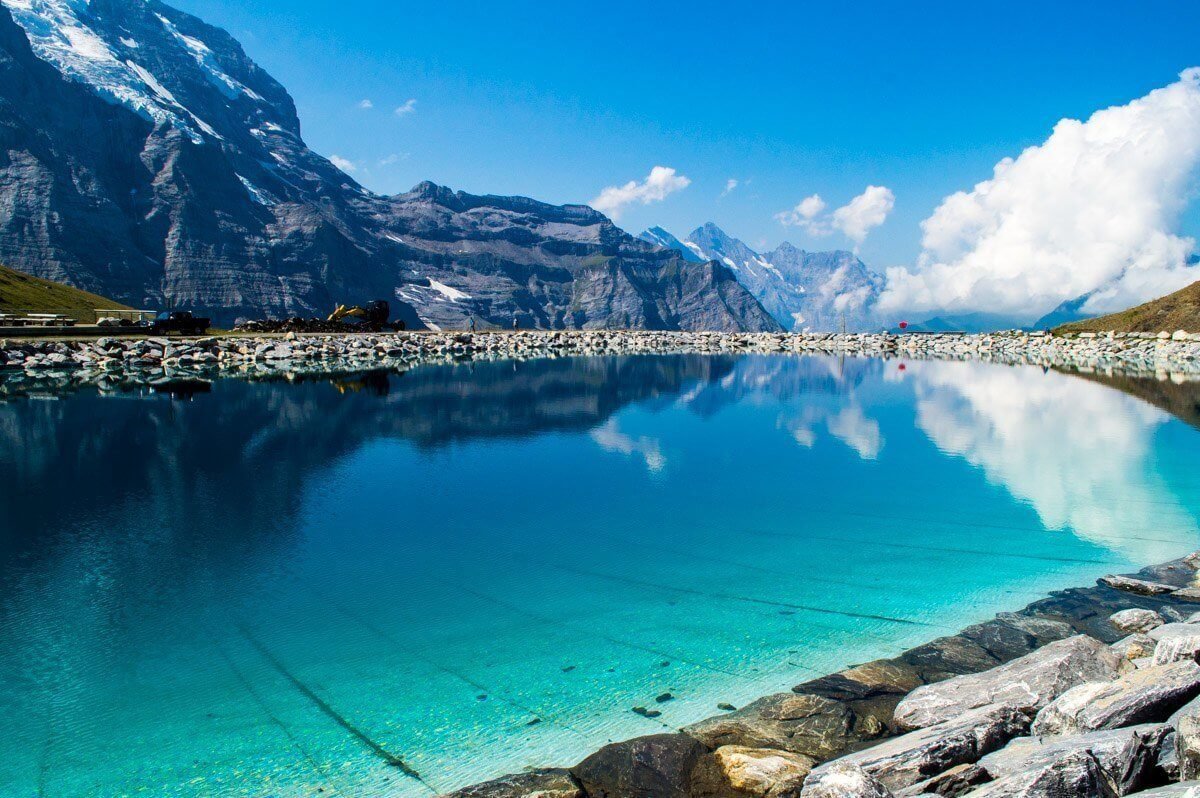 Reflections at Kleine Scheidegg