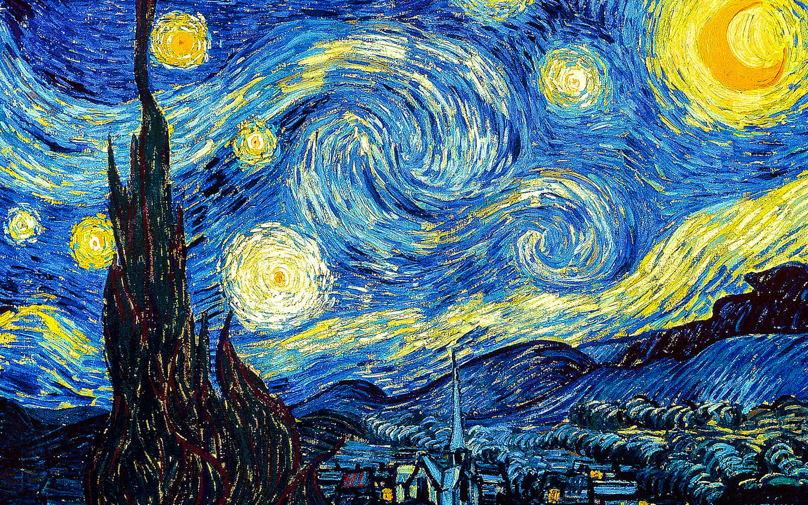 Starry Sky by Van Gogh