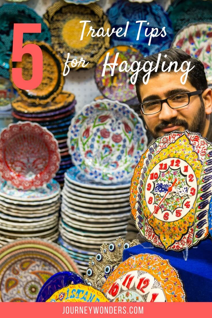 Interested in avoiding getting ripped off? Here's my best 5 tips to haggle like a pro during your travels via @journeywonders