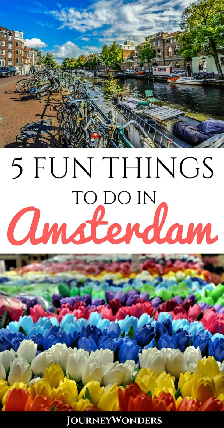 "Amsterdam is famous for its weed selling ""coffee shops"" and its red light district, but there are so many more things to do than that. Alternative ideas for traveling the capital of the Netherlands via @journeywonders"