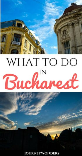 Romania's capital, Bucharest, is full of fun things to do! Tips on favorite restaurants, best architecture, photography spots in the Old Town, nightlife & more via @journeywonders
