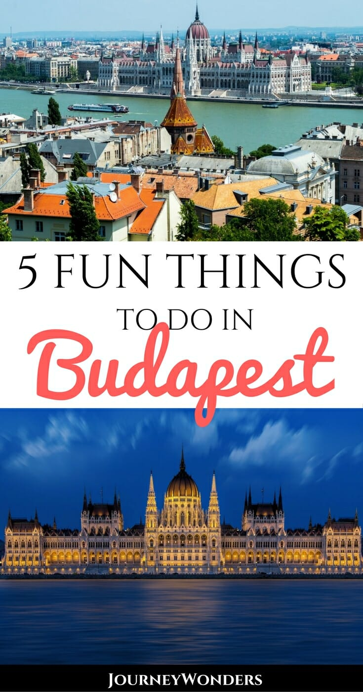 Budapest, made up of the twin cities of Buda and Pest, is the capital of Hungary located on the beautiful Danube river. Here are some things to do in Budapest, including thermal baths, photography spots, beautiful churches, fun nightlife & more!