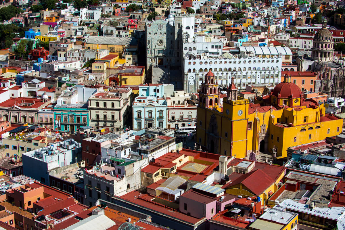The colors and diversity of Guanajuato