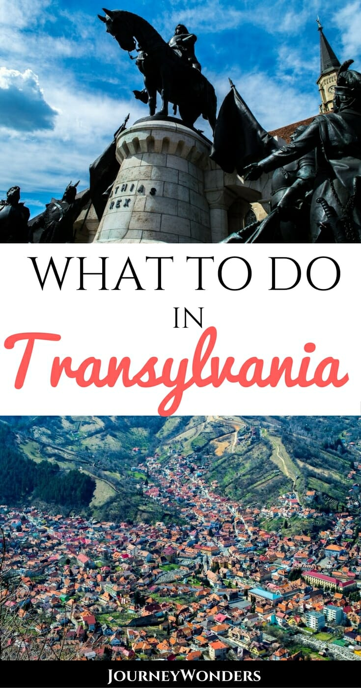 Forget Dracula! Transylvania in Romania is so much more than that! There are plenty of great things to do in Brasov, Sibiu and Sinaia. Check out the architecture, see the old towns, try the food, and absorb the local culture via @journeywonders