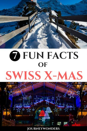 5 Fun Facts of X-Mas in Switzerland